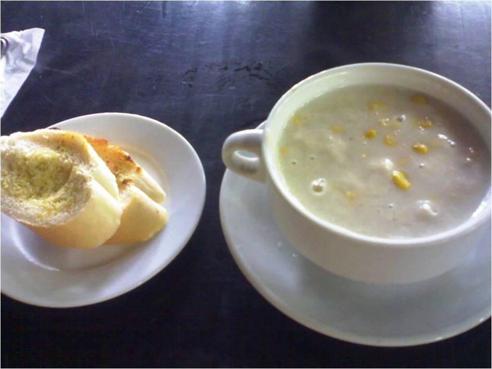 Resep Sehat : Sup Krim Ayam Jagung
