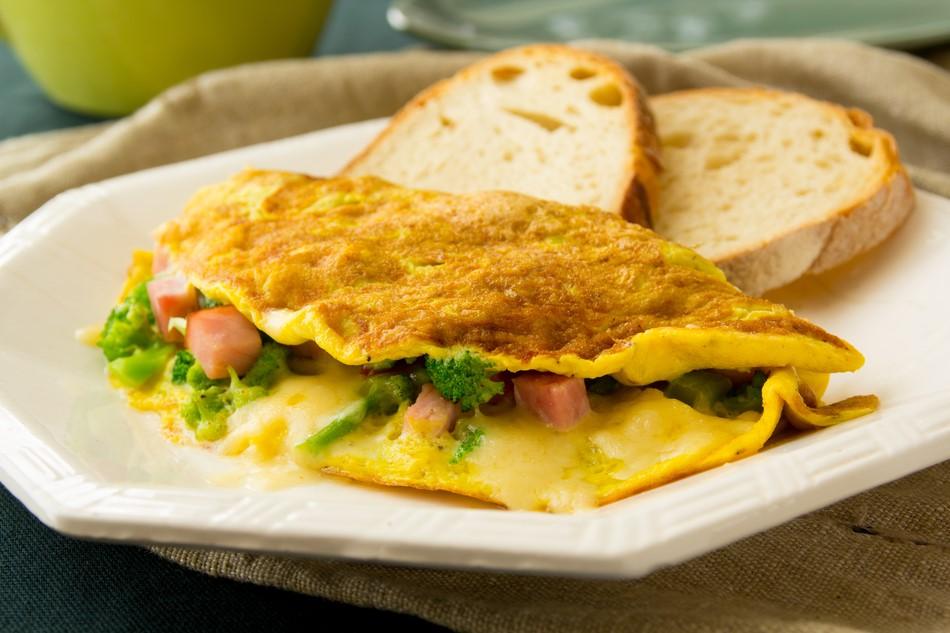 Resep Omelet Putih Telur Oatmeal Untuk Sarapan Pagi Mymilk Com