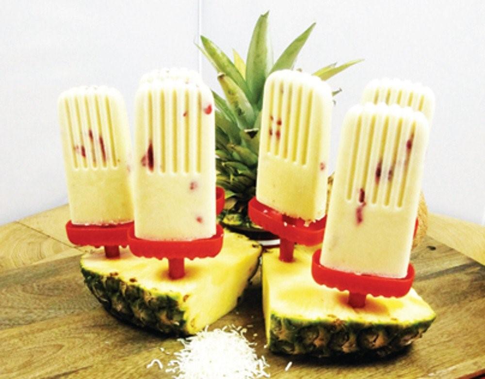 Yuk Bikin Pineapple Banana Ice Pop Kesukaan Si Kecil!