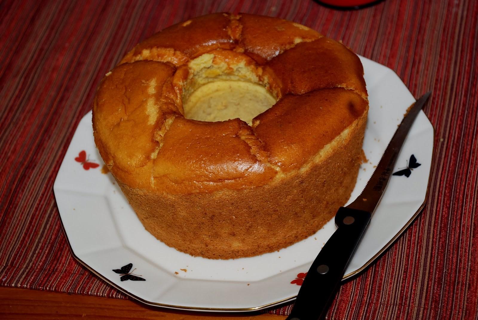 Chiffon Cake Susu Durian, Si Lezat Sajian Spesial Pencinta Duren