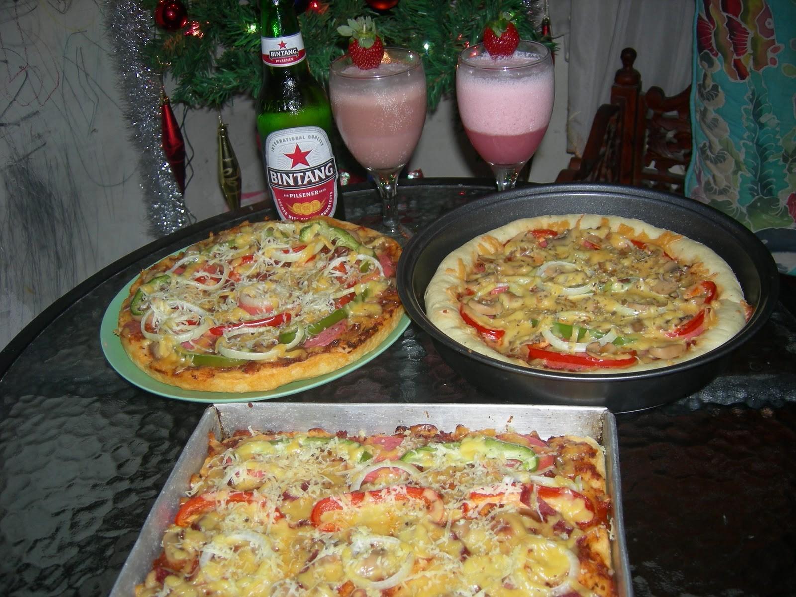 Resep Sederhana Pizza Sosis Keju, Cuma Pake Teflon