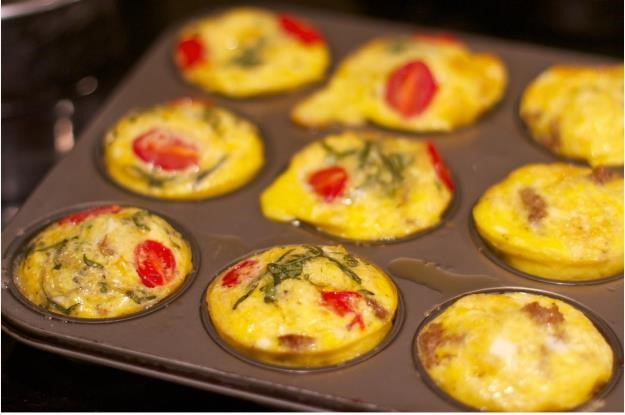 Sarapan Spesial : Egg and Smoked Beef Muffin