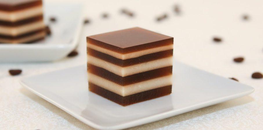 Pengen Dessert Enak dan Praktis, Kamu Mesti Coba Milk Coffee Jelly!