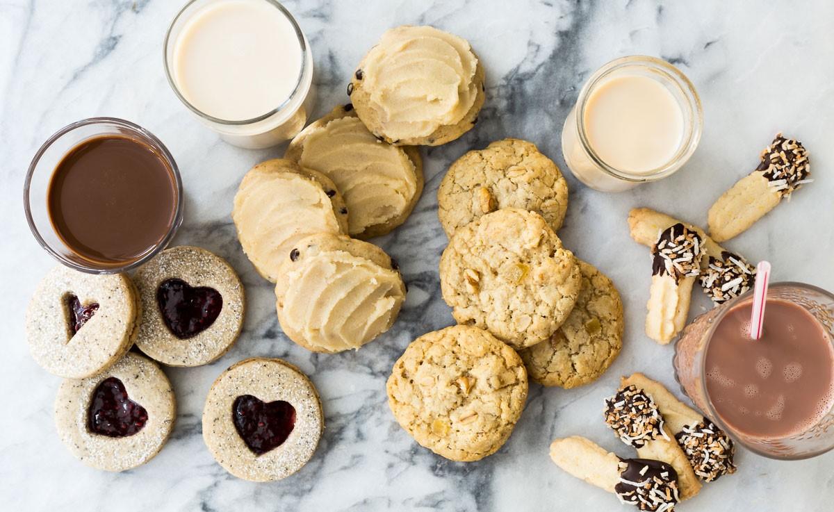 Seluruh Anggota Keluarga Pasti Suka Milk Cookies Ini Milk Lovers