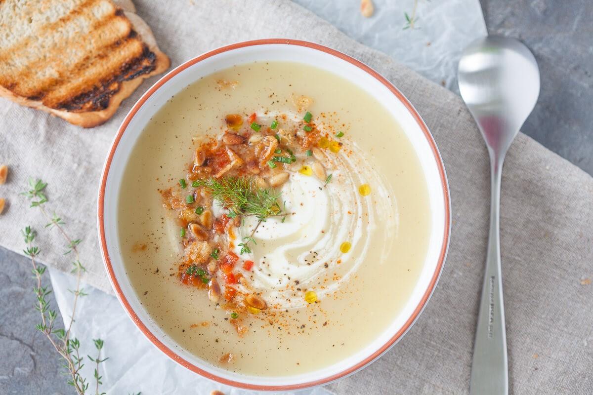 Sup Krim Susu dan Kentang Panggang Ini Cocok Jado Jamuan Akhir Pekan
