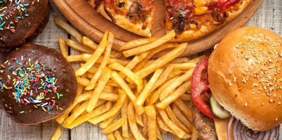 reseach on determinents of junk food