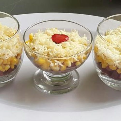 Lagi Cari Camilan Sore, Bikin Jagung Susu Keju Crunchy Aja Yuk!
