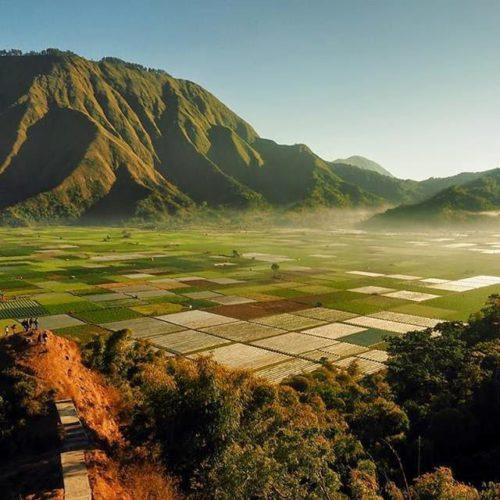 Potret Sembalun, Desa Cantik Penyempurna Keindahan Lombok