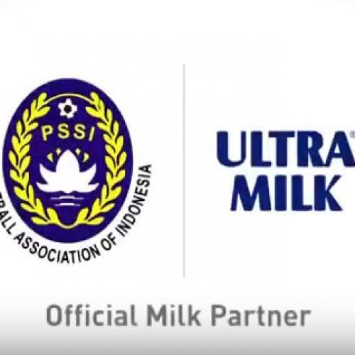 Resmi, Ultra Milk Sponsori Tim Nasional Sepak bola Indonesia
