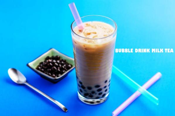 Resep Minuman Segar, Bubble Drink Milk Tea