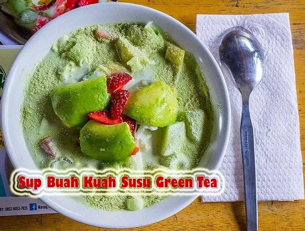Bikin Segar Harimu Dengan Resep Sup Buah Kuah Susu Green Tea