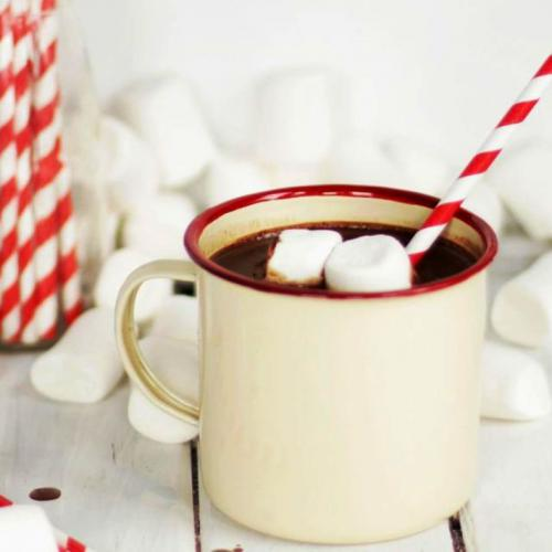 Hot Choco With Marshmallow, Sajian Spesial di Musim Hujan!