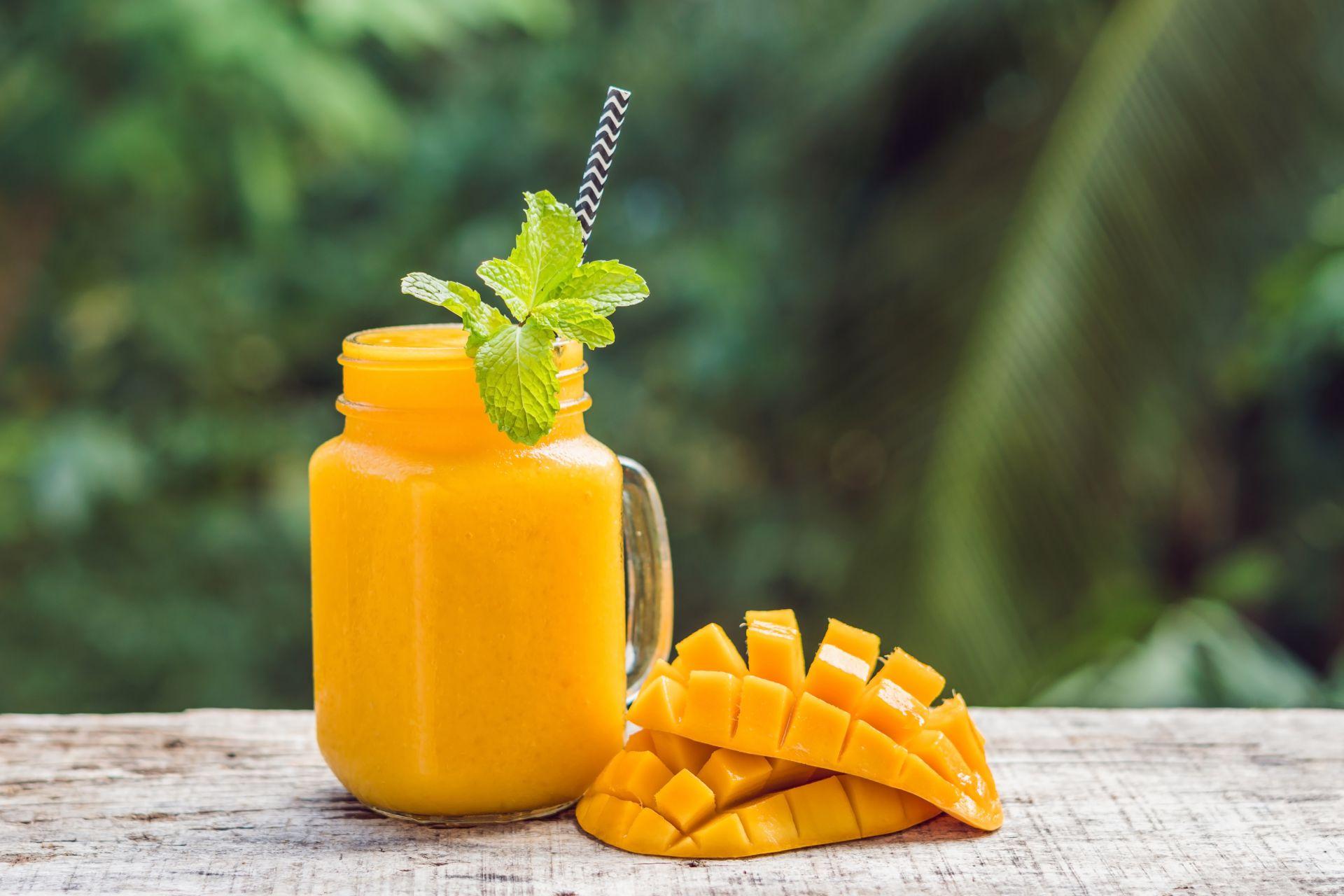 Mango Smoothies Susu UHT, Segar dan Sehat